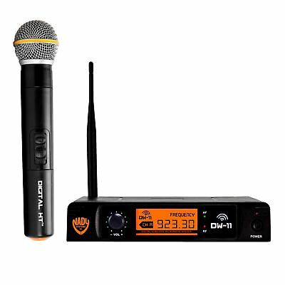 Nady DW-11 Digital Wireless Handheld Microphone System with QPSK Modulation