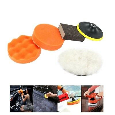 6-51X 3/'/'Inch Buffing Pad Kit For Auto Car Wheel Polishing CarHand Buffer Set