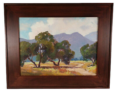 Vintage California Landscape Oil Painting Mildred Scott Townsend Listed Artist