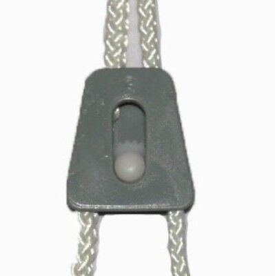 Cord lock - 6mm Rope Lock  - Body & Wheel Insert - Pack Of 6