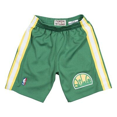 d313bacda Seattle Supersonics 1994-95 Road Mitchell   Ness Swingman Throwback Shorts