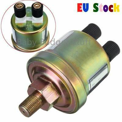 1/8 NPT Oil Pressure Sensor Engine Oil Pressure Switch Sensor Gauge Sender UK