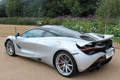 2018 McLaren 720S Performance with Sports Exhaust (VAT Qualifying) Petrol silver