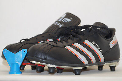 Adidas vintage Fussballschuhe HATTRICK 80er EU.41 UK.7,5 WEST GERMANY Made