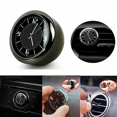 Car Clock Electronic Quartz Watch Ornaments Interior Luminous For Mercedes-Benz