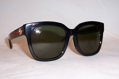 55ca80e866d34 NEW GUCCI SUNGLASSES Gg 0036S 002 Black brown Authentic 0036 ...