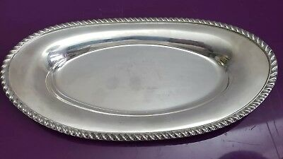 English Silver MFG Corp. Made in USA Silver Platter