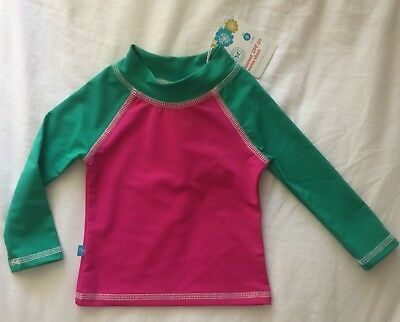 The Honest Company Infant Baby Girl Swim Top Size Small 3-6 Months