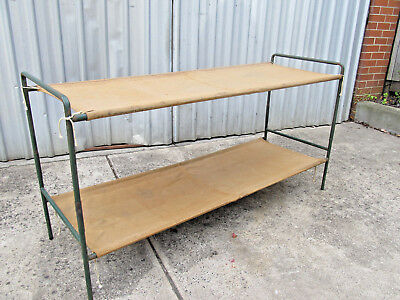 Stretchers Bunks or Single Bed Childrens Size Vintage Collectable Antique Retro