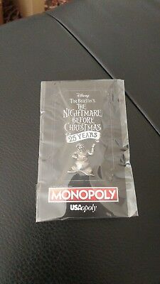 SDCC Comic Con 2018 Exclusive - Nightmare Before Christmas Monopoly pin (1 of 4)