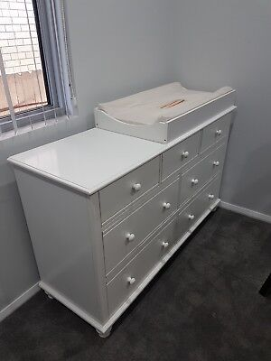 Baby Nursery Change Table Chest, Drawer, Dresser ,Cabinet , Room Nursery Furnit…