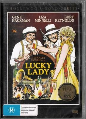 Lucky Lady DVD New and Sealed Australia All Regions