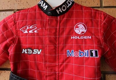 Holden Racing Team Hrt Boy's Kid's Race Suit Size 4