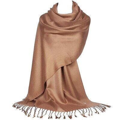 Bridal Wedding Shawl Satin Bridesmaid Prom Stole Wrap Bolero Pashmina Cover Up