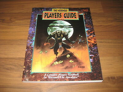 Werewolf The Apocalypse Players Guide1993 WW3202 White Wolf SC VG