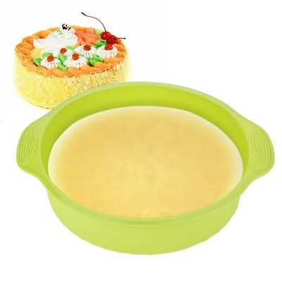 9 Inch Round  Silicone Mold Cake Pan Mould Bread Bakeware DIY Baking Tool