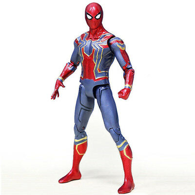 """Avengers 3 Infinity War Iron Spiderman 6"""" Spider-Man Action Figure Toys Gifts DE"""
