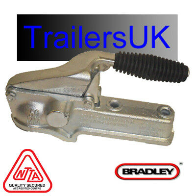 BRADLEY Doublelock D201 Unbraked 50mm Trailer Coupling/Tow Hitch