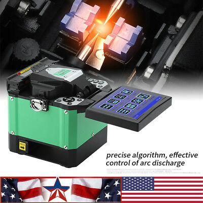 """A-80S Automatic Optical Fiber Fusion Splicer Night Operation 5"""" LCD Display"""