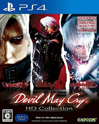 """Devil May Cry HD Collection ( """"Limited Benefits"""" PS4? special them... From Japan"""