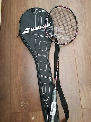 Babolat X Act pink racket head heavy 83g strung brand new unused full case