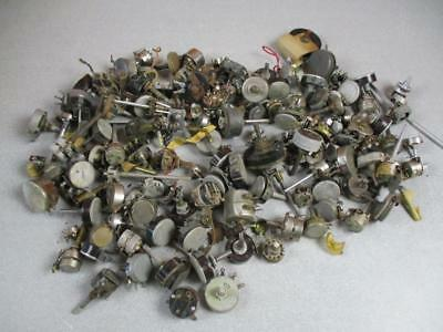 9 LB Lot Of Vintage Potentiometers Used And New