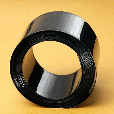 Black PVC Heat Shrink Tubing 7mm ~ 500mm lot high quality