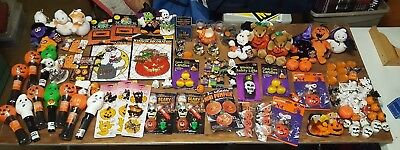 Vintage Wholesale Lot 100+ HALLOWEEN Holiday Figurines Decoration Mixed