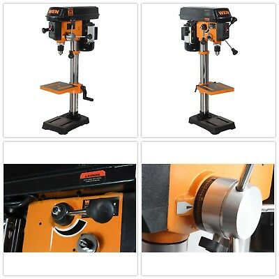 Drill Press 10 In Table Bench Top Variable Speed Laser Centering Drilling Wood