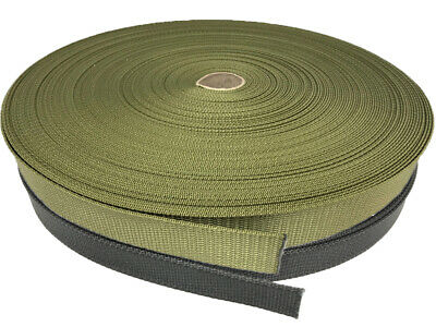 Webbing - Type 1 Army - available in 25mm, 32mm, 38mm & 50mm - Khaki & Black - 1