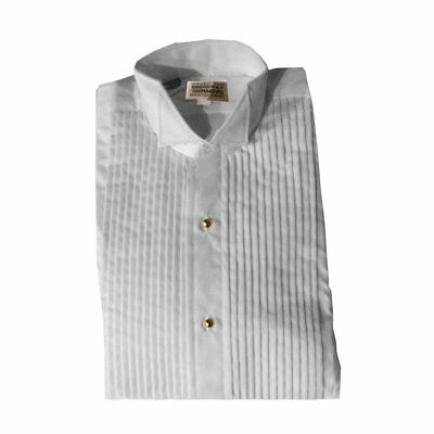 212ff9a5754 WOMENS WHITE TUXEDO Shirt With Wing Collar and 1 4