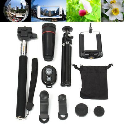 All in 1 Accessories Phone Camera Lens Top Travel Kit For Mobile Phone LOT HS