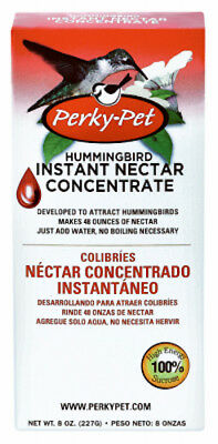 Perky Pet: 240SF:8oz:  No Boil Instant Hummingbird Nectar & Food: Makes 48 oz