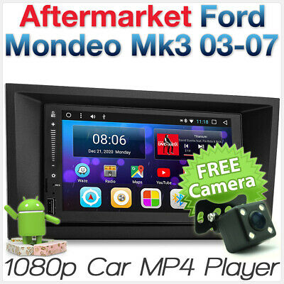 Ford Mondeo Mk3 2003-2007 Android Car MP3 Player Head Unit Stereo Radio GPS MP4