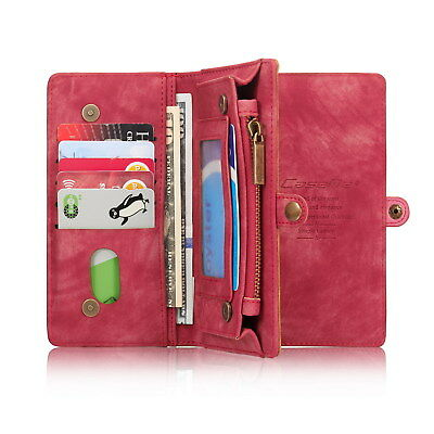 New Leather Wallet Case Cover For Samsung Galaxy 7/8/9 Magnetic Flip Card Pocket