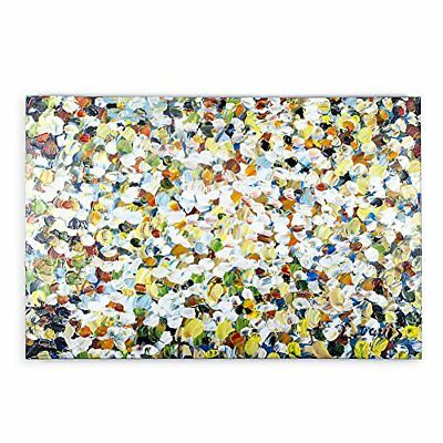 Big canvas modern abstract art oil painting home wall decoration frame