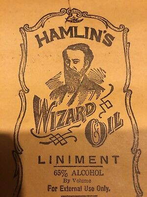 Handbill broadside Hamlin's Wizard Oil Medical vintage advertising quackery