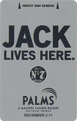 Las Vegas Palms Casino Jack Daniels #2 - Room Key