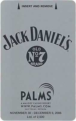 Las Vegas Palms Casino Jack Daniels #1 - Room Key