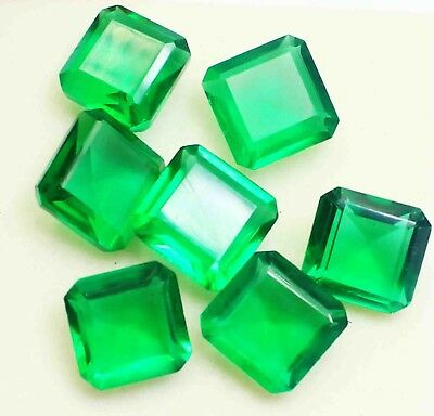 76.85 Ct Certified Impressive Emerald Shape Green Moldavite Gemstone Lot BB1669