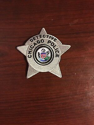 Chicago Police Detective Star Patch