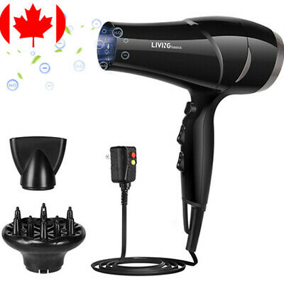1875W hair dryer, 3 temp heat and 2 Speed settings Cool button -ALCI plug