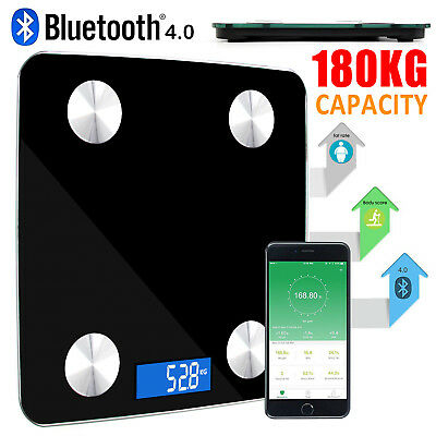 IOS Android Smart Bluetooth Digital Weight Scales Bathroom Body Fat Weight Scale