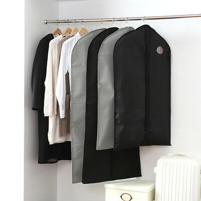 Wardrobe Hanging Clothes Garment Suit Coat Cover Dustproof Bag Storage Protector