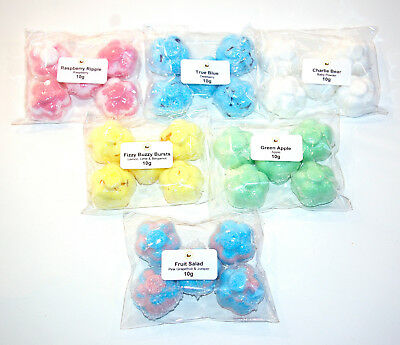 Bath Bombs mix mini flowers various scents by Bee Beautiful
