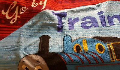 bulk 2 x blankets thomas the engine and dora polar fleece fabric