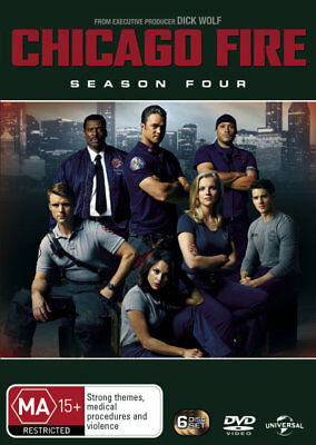 Chicago Fire: Season 4 - DVD (NEW & SEALED)