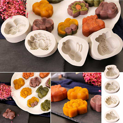 3D Silicone Cake Mould Candy DIY Moon Cake Cookie Cupcake Soap Molds Baking Tool