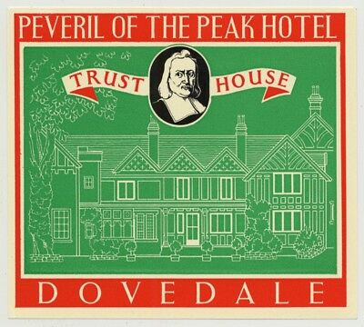 Peveril Of The Peak Hotel (Trust House) - Dovedale / Great Britain (Vintage Lugg