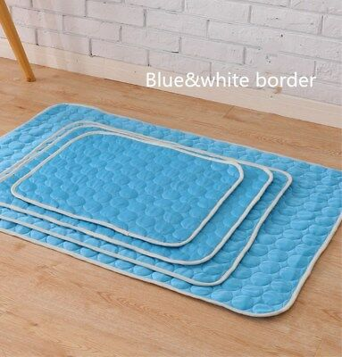 Pet Dog Self Cooling Mat Pad for Kennels, Crates and Beds- Arf Pets(s/m/l/xl)